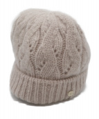 HELEN KAMINSKI(ヘレンカミンスキー)の古着「ニット帽」|ベージュ