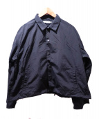 ETHOS(エトス)の古着「TANRAN COACH JACKET」|ブラック