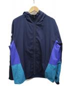 X-LARGE(エクストララージ)の古着「フーデッドジャケット」|ネイビー