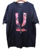UNDER COVER(アンダーカバー)の古着「アンダーバープリントTシャツ」 ブラック