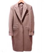 UNITED ARROWS(ユナイテッドアローズ)の古着「ウールカシミヤメルトンコート」|ブラウン