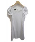EMPORIO ARMANI(エンポリオアルマーニ)の古着「ブラウスワンピース」|ホワイト