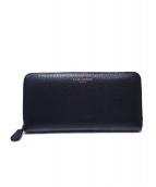 J&M DAVIDSON(ジェイエムデビッドソン)の古着「ラウンドファスナー財布」|ブラック