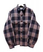 PENDLETON(ペンドルトン)の古着「ボアライニングCPOジャケット」|ブラウン×ブラック