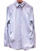 MADISON BLUE(マディソンブルー)の古着「ウォッシュドデニムシャツ」|インディゴ