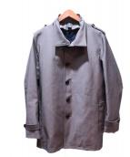 LANVIN en Bleu(ランバンオンブル)の古着「ライナー付コート」|グレー