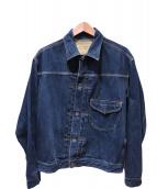 Stevenson Overall Co.(スティーブンソンオーバーオール)の古着「デニムジャケット」|インディゴ