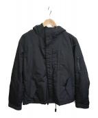 nano・universe(ナノユニバース)の古着「フーデッドジャケット」 ブラック