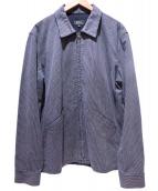 A.P.C.(アーベーセ)の古着「デニムジップアップジャケット」 インディゴ