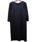 ARTISAN(アルティザン)の古着「ブラウスワンピース」|ブラック