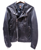 SCHOTT BROS.(ショットブロス)の古着「ワンスターライサースジャケット」|ブラック