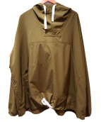 BEAMS(ビームス)の古着「アノラックパーカー」 オリーブ