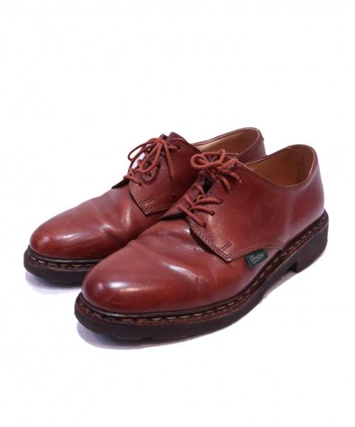 PARABOOT(パラブーツ)PARABOOT (パラブーツ) プレーントゥシューズ ブラウン サイズ:5 ARLES 703815の古着・服飾アイテム