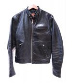 freedom(フリーダム)の古着「レザージャケット」 ブラック