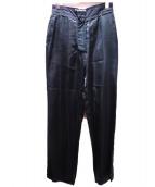 Martin Margiela(マルタンマジェイラ)の古着「裏返し再構築パンツ」|ブラック