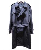 SANYO(サンヨー)の古着「ナイロントレンチコート」|ブラック