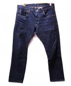 ONI DENIM(オニデニム)の古着「天然藍染デニムパンツ」 インディゴ