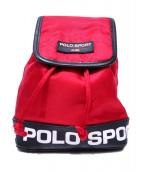 POLO SPORT(ポロスポーツ)の古着「ロゴミニリュック」|レッド