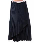 CLANE(クラネ)の古着「プリーツスカート」 ブラック