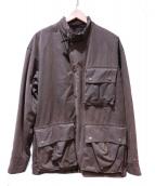 POLO RALPH LAUREN(ポロラルフローレン)の古着「オイルドコットンジャケット」|ブラウン