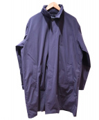SHIPS(シップス)の古着「ダウンライニングステンカラーコート」|ネイビー