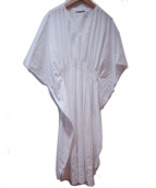 MARIHA(マリハ)の古着「草原の光のカフタン」|ホワイト