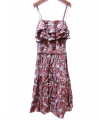 MARIHA(マリハ)の古着「波の音のドレス」 ベージュ