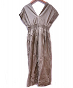 MARIHA(マリハ)の古着「夏の光のドレス」 オリーブ