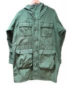 SIERRA DESIGNS(シェラデザインズ)の古着「マウンテンパーカー」 グリーン