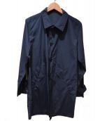 agnes b homme(アニエスベーオム)の古着「ステンカラーコート」|ネイビー