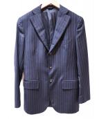 TONELLO(トネッロ)の古着「セットアップスーツ」|ネイビー×ベージュ