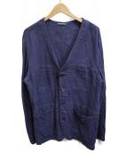 UNITED ARROWS(ユナイテッドアローズ)の古着「リネンセットアップ」|ネイビー