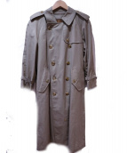 Burberrys(バーバリーズ)の古着「トレンチコート」|オリーブ