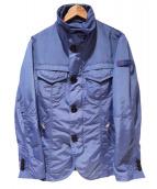 PEUTEREY(ビューテリ)の古着「ナイロンジャケット」|ブルー