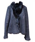 icB(アイシービ)の古着「ムートンジャケット」|ブラック