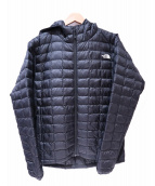 THE NORTH FACE(ザノースフェイス)の古着「RED POINT VERY LIGHT HOODIE」 ブラック