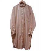 TICCA(ティッカ)の古着「2WAYシャツワンピース」|ベージュ