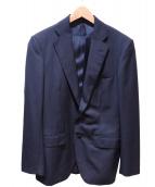 TOMORROW LAND(トゥモローランド)の古着「Super140sウール 2Bスーツ」|ネイビー
