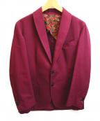 Salvatore Piccolo(サルヴァトーレ・ピッコロ)の古着「テーラードジャケット」 パープル