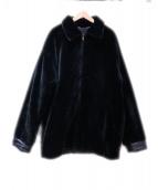 NINA RICCI(ニナリッチ)の古着「オーバーサイズリバーシブルジャケット」 ブラック