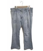 LEVIS(リーバイス)の古着「ベルボトムパンツ」|ブルー