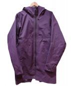 ARCTERYX VEILANCE(アークテリクス ヴェイランス)の古着「フーデッドコート」 パープル