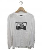 ELVIRA(エルビラ)の古着「長袖シャツ」|ブラック×ホワイト