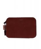 Herz(ヘルツ)の古着「スマートタイプセカンドバッグ」|チョコ