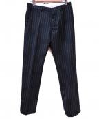 ami(アミ)の古着「トラウザーパンツ」 ブラック