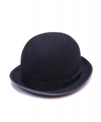 ORGUEIL(オルゲイユ)の古着「Bowler Hat」|ブラック
