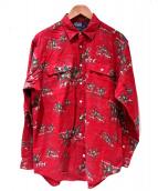 POLO RALPH LAUREN(ポロラルフローレン)の古着「総柄シャツ」|レッド