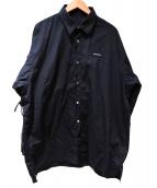 SYU.(シュウ)の古着「別注Nu Super arm Shirts type Sli」 ブラック