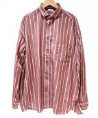 TICCA(ティッカ)の古着「スクエアビッグシャツ」|ブラウン