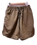 NIKELAB(ナイキラボ)の古着「コレクションショートパンツ」 ブラウン